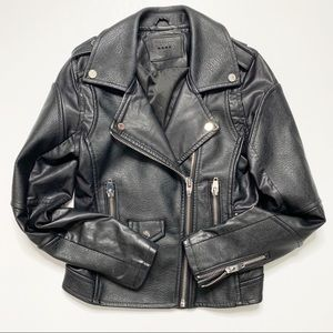 Blank NYC Faux Leather Moto Jacket XS